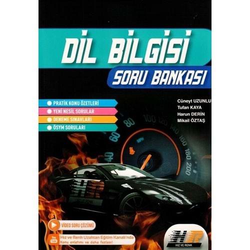 Hız ve Renk Yayınları TYT AYT Dil Bilgisi Soru Bankası