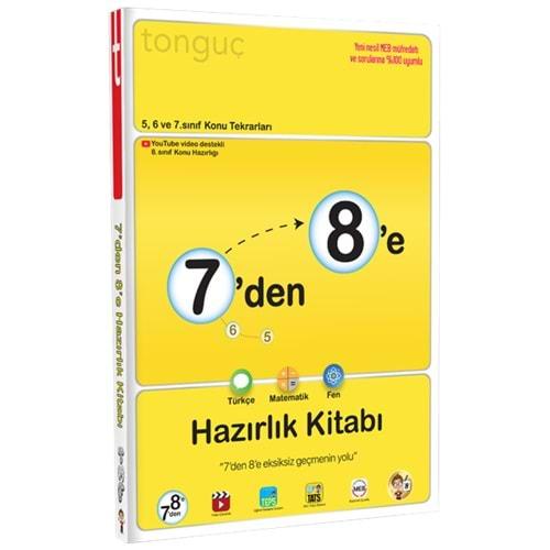 Tonguç Akademi 7 den 8 e Hazırlık Kitabı