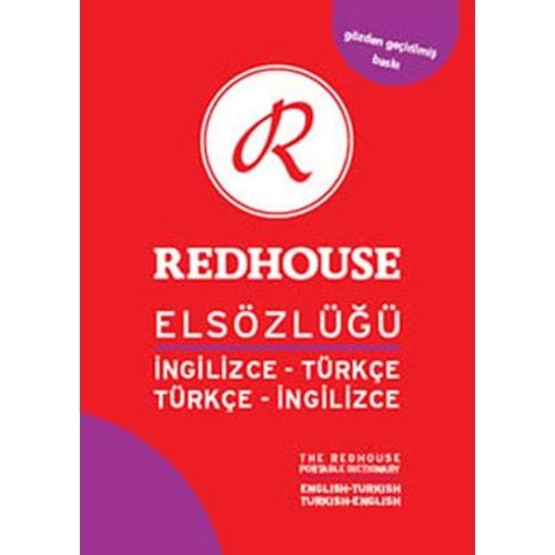 Redhouse Elsözlüğü İng.-Türk./Türk.-İng. (Kırmızı Orta)