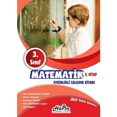 Hakim Yayınları 3. Sınıf Matematik Etkinlikli Çalışma Kitabı 2.Kitap