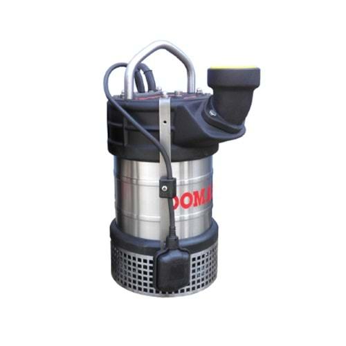 Domak ASGM257 3 HP 220V Çelik Gövdeliİ Atık Su Dalgıç Pompa