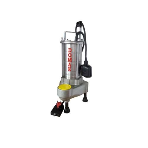 Domak ASM1350 V5 3 HP 220V Çelik Gövdeli Atık Su Dalgıç Elektropomplar