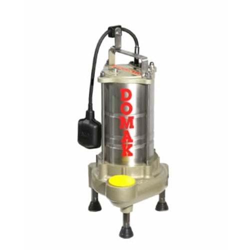 Domak ASM221 K2 1.5HP 220V Çelik Gövdeli Atık Su Dalgıç Elektropomplar